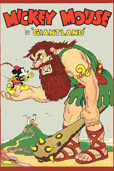 Caratula, cartel, poster o portada de Mickey Mouse: El País de los Ogros