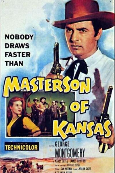 Caratula, cartel, poster o portada de Masterson de Kansas