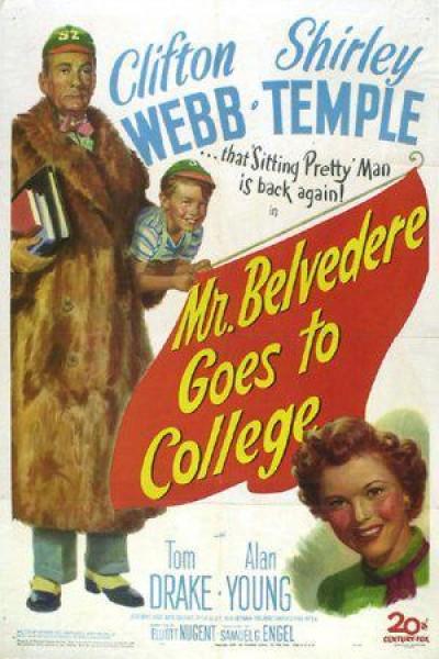 Caratula, cartel, poster o portada de Mr. Belvedere, estudiante
