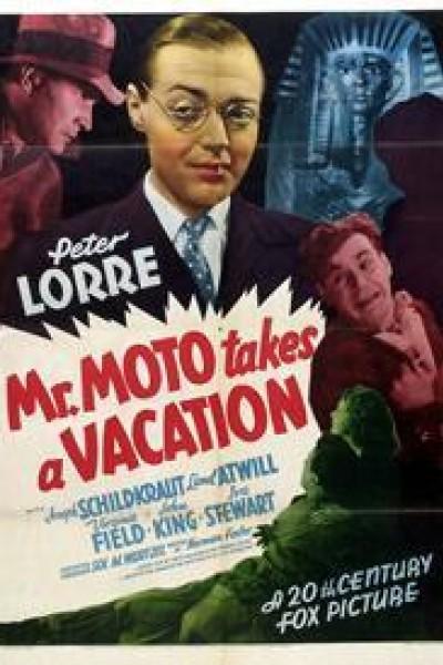 Caratula, cartel, poster o portada de Mr. Moto de vacaciones