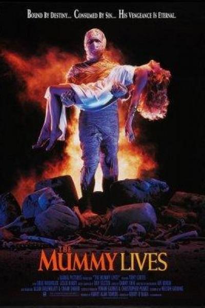 Caratula, cartel, poster o portada de The Mummy Lives