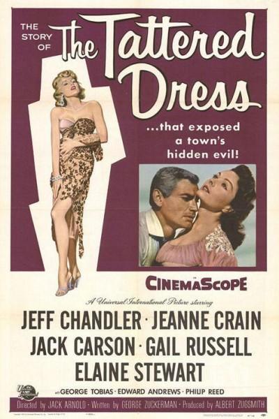 Caratula, cartel, poster o portada de El vestido roto