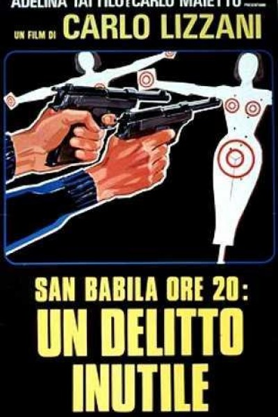 Caratula, cartel, poster o portada de San Babila ore 20: un delitto inutile