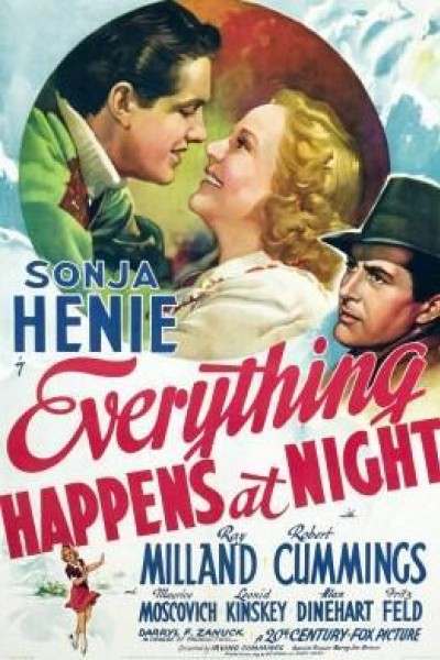 Caratula, cartel, poster o portada de Everything Happens at Night