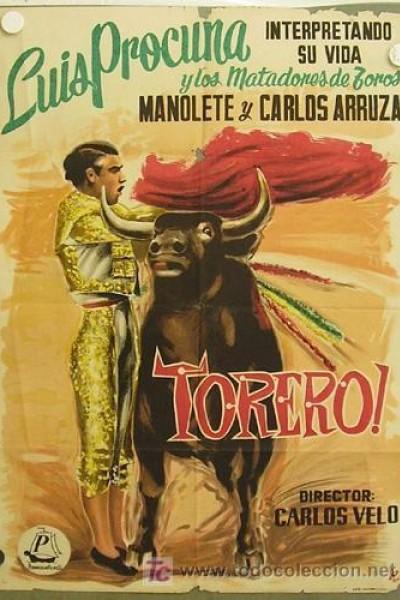 Caratula, cartel, poster o portada de Torero
