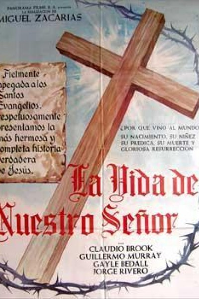 Caratula, cartel, poster o portada de La vida de nuestro señor Jesucristo