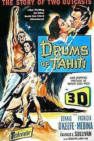 Caratula, cartel, poster o portada de Tambores de Tahití