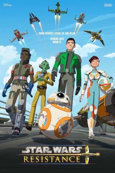 Caratula, cartel, poster o portada de Star Wars Resistance