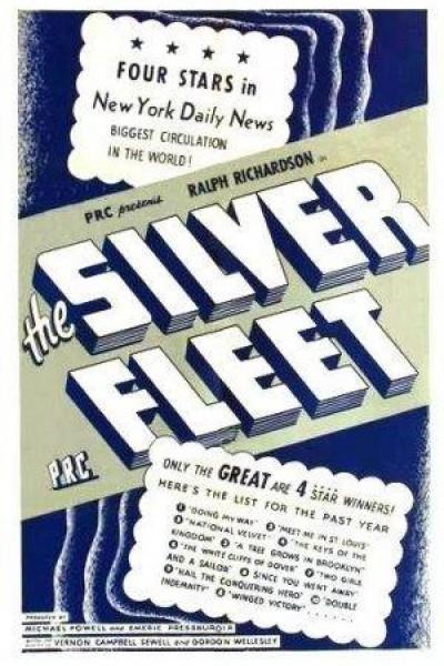 Caratula, cartel, poster o portada de The Silver Fleet