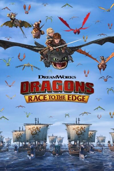 Caratula, cartel, poster o portada de Dragones: Hacia nuevos confines