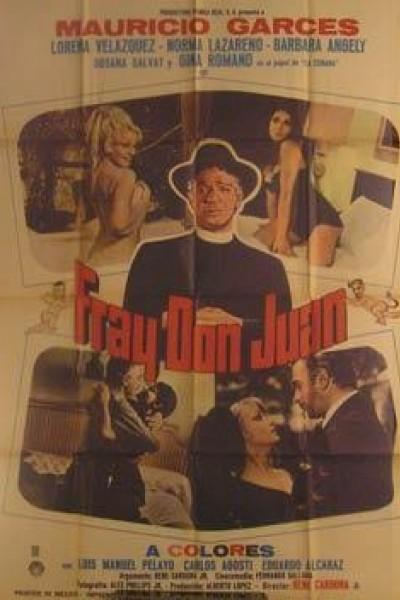Caratula, cartel, poster o portada de Fray Don Juan