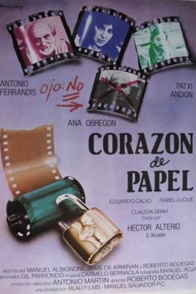 Caratula, cartel, poster o portada de Corazón de papel
