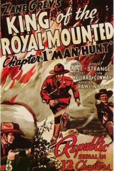 Caratula, cartel, poster o portada de King of the Royal Mounted