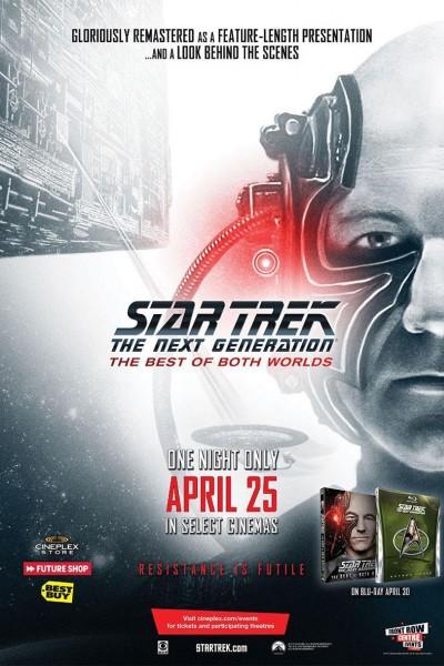 Caratula, cartel, poster o portada de Star Trek, La Nueva Generación: Lo Mejor de Ambos Mundos