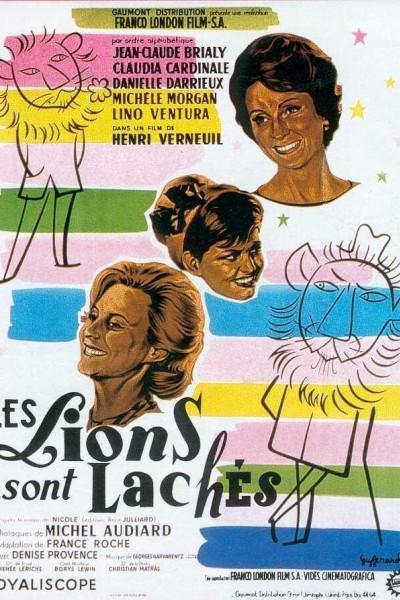 Caratula, cartel, poster o portada de Los leones andan sueltos