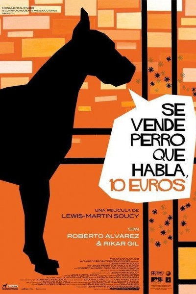 Caratula, cartel, poster o portada de Se vende perro que habla, 10 euros