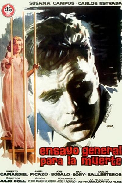 Caratula, cartel, poster o portada de Ensayo general para la muerte