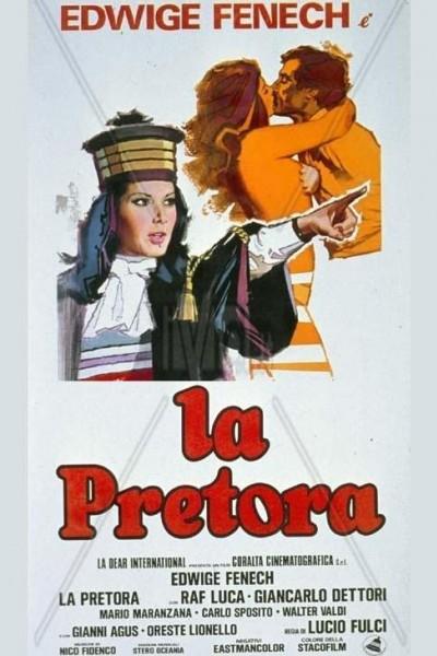 Caratula, cartel, poster o portada de La juez y su erótica hermana
