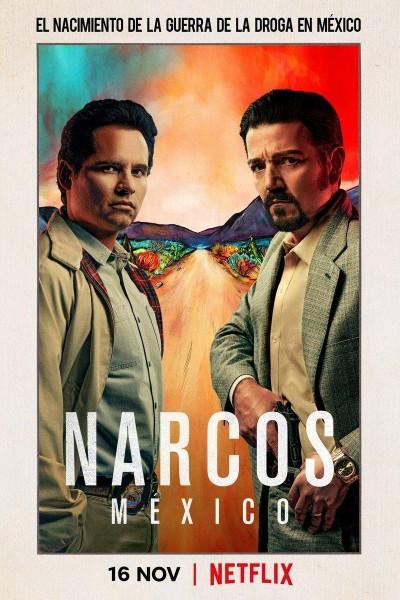 Caratula, cartel, poster o portada de Narcos: México