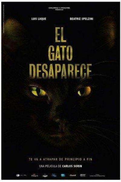 Caratula, cartel, poster o portada de El gato desaparece
