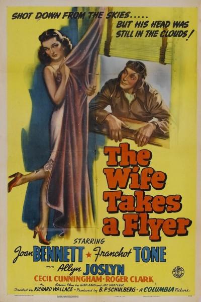 Caratula, cartel, poster o portada de The Wife Takes a Flyer