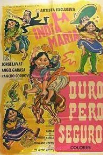 Caratula, cartel, poster o portada de Duro pero seguro