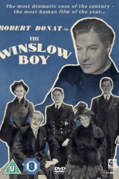Caratula, cartel, poster o portada de El caso Winslow (Pleito de honor)