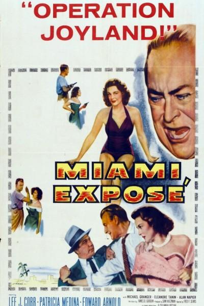 Caratula, cartel, poster o portada de Miami Exposé