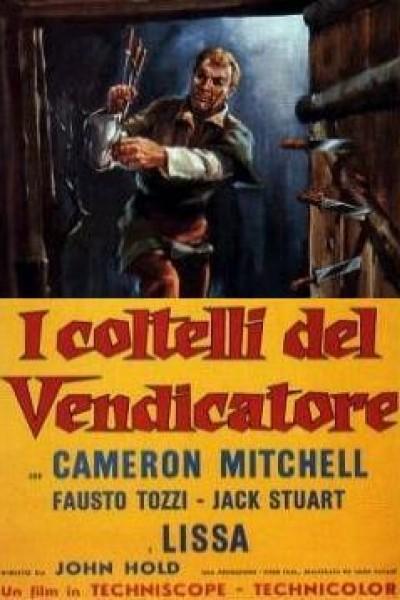 Caratula, cartel, poster o portada de Los cuchillos del vengador