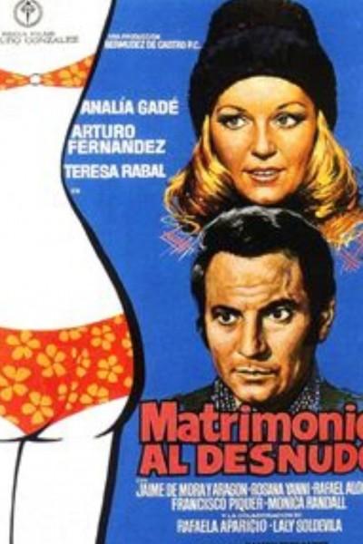 Caratula, cartel, poster o portada de Matrimonio al desnudo