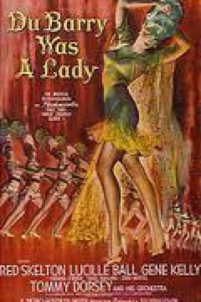 Caratula, cartel, poster o portada de La Dubarry era una dama