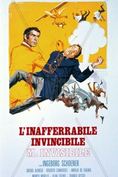 Caratula, cartel, poster o portada de El hombre invisible
