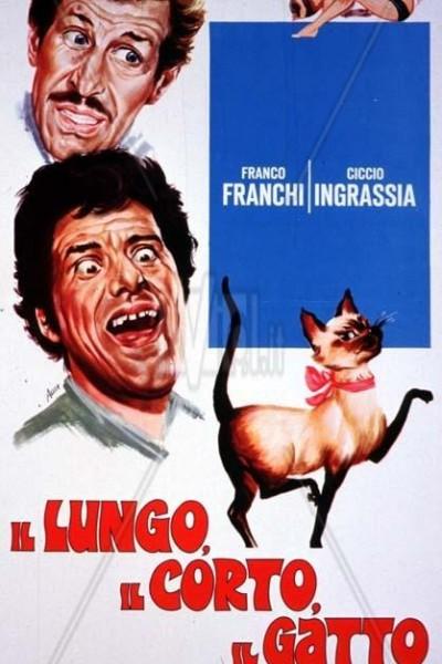 Caratula, cartel, poster o portada de Il lungo, il corto, il gatto