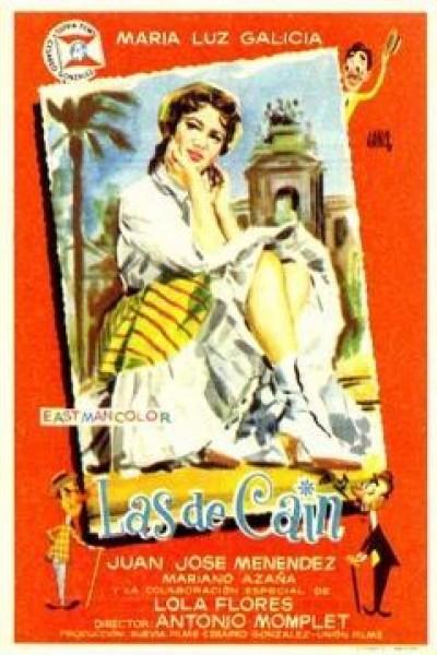 Caratula, cartel, poster o portada de Las de Caín