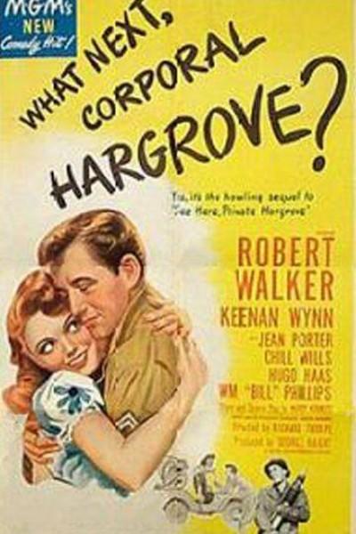 Caratula, cartel, poster o portada de ¿Qué hay de nuevo, cabo Hargrove?
