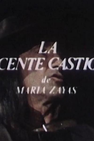 Caratula, cartel, poster o portada de La inocente castigada