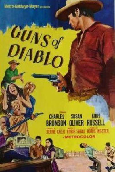 Caratula, cartel, poster o portada de Las pistolas del diablo