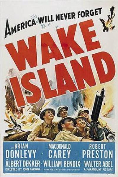 Caratula, cartel, poster o portada de Wake Island