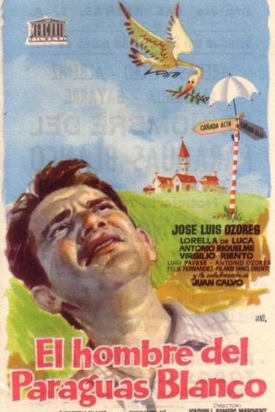 Caratula, cartel, poster o portada de El hombre del paraguas blanco