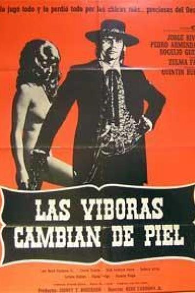 Caratula, cartel, poster o portada de Las viboras cambian de piel