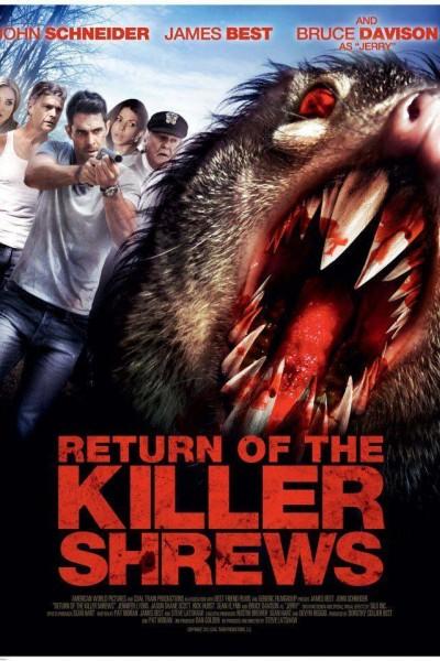Caratula, cartel, poster o portada de El retorno de las musarañas asesinas
