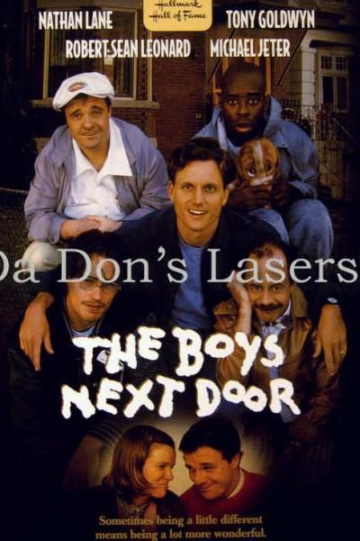 Caratula, cartel, poster o portada de Los chicos de la puerta de al lado