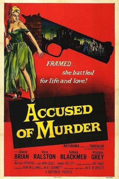 Caratula, cartel, poster o portada de Accused of Murder