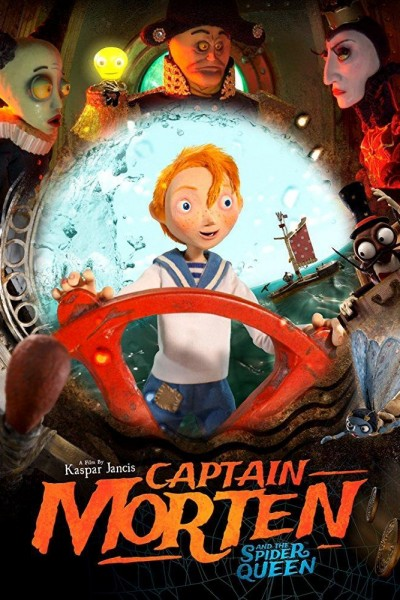 Caratula, cartel, poster o portada de Captain Morten and the Spider Queen