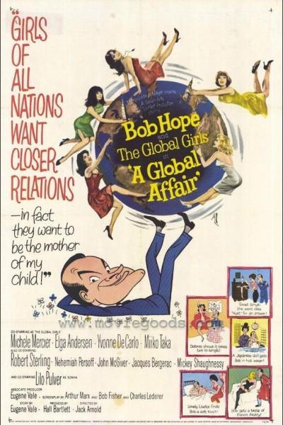 Caratula, cartel, poster o portada de Un biberón en la ONU