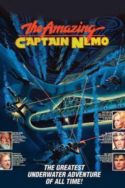 Caratula, cartel, poster o portada de Viaje a la Atlántida del capitán Nemo