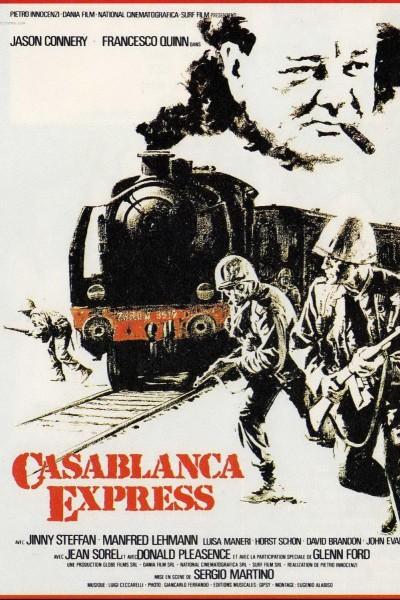 Caratula, cartel, poster o portada de Casablanca Express