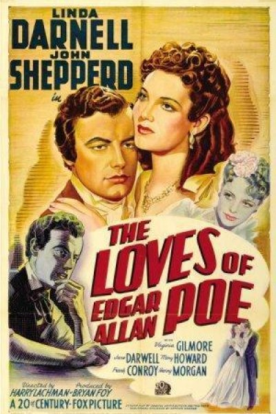 Caratula, cartel, poster o portada de Los amores de Edgar Allan Poe