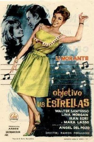Caratula, cartel, poster o portada de Objetivo: las estrellas