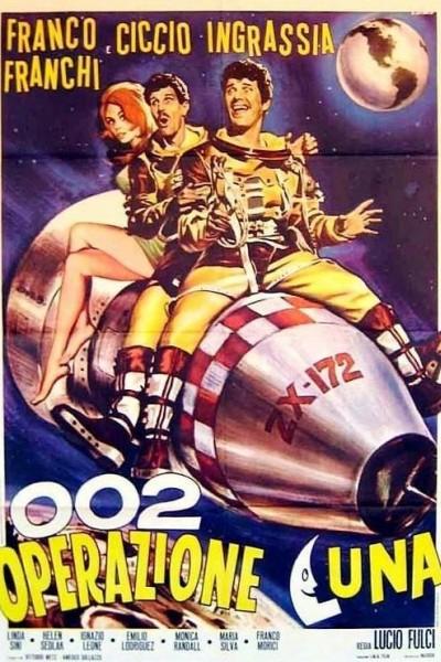 Caratula, cartel, poster o portada de Dos cosmonautas a la fuerza